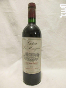 La Marzenac - Les Vignerons de Puisseguin Lussac Saint-Emilion - 1992 - Rouge