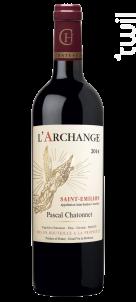 L'Archange - Vignobles Chatonnet - 2014 - Rouge