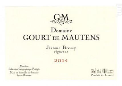 Domaine Gourt de Mautens Blanc - Gourt de Mautens - 2016 - Blanc