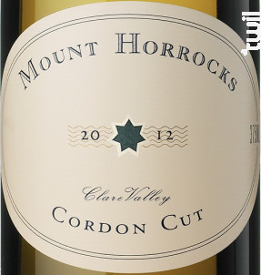 Cordon cut - riesling - MOUNT HORROCKS - 2018 - Blanc