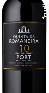 Quinta Da Romaneira 10 Ans - QUINTA DA ROMANEIRA - Non millésimé - Rouge