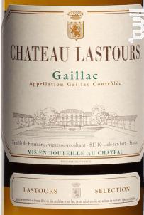 Château Lastours Sélection - Château Lastours - 2018 - Blanc