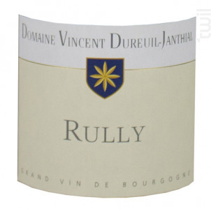 Rully - Vincent Dureuil-Janthial - 2015 - Rouge