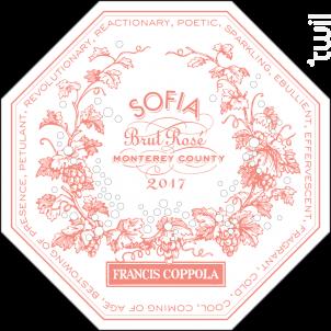 BRUT ROSE - PINOT NOIR, CHARDONNAY - SOFIA - 2017 - Effervescent