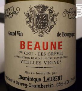 Beaune 1er Cru Les Grèves Vieilles Vignes - Domaine Dominique Laurent - 2009 - Rouge