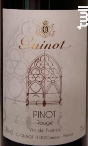 Pinot Noir - Maison Guinot depuis 1875 - 2017 - Rouge