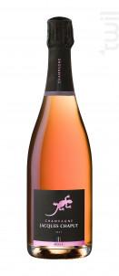 Brut Rosé - Champagne Jacques Chaput - Non millésimé - Effervescent