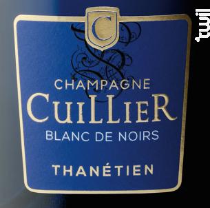 Cuvée Bleue - Thanétien - Champagne Cuillier - Non millésimé - Effervescent