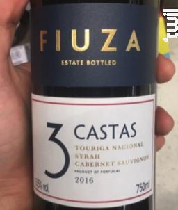 3 Castas Rouge - Fiuza - 2016 - Rouge