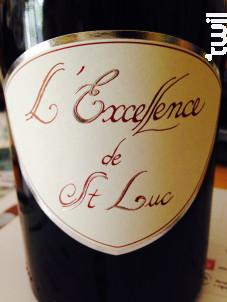 L'Excellence de Saint Luc - Domaine Saint Luc - 2014 - Rouge