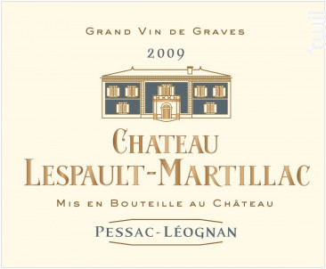 Château Lespault-Martillac - Domaine de Chevalier - 2014 - Blanc