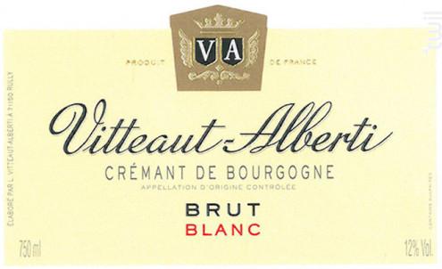 CREMANT DE BOURGOGNE BRUT - Maison Vitteaut-Alberti - Non millésimé - Effervescent