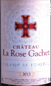 Château La Rose Gachet - Château La Rose Gachet - 2013 - Rouge