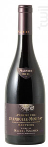 Chambolle-Musigny 1er cru Sentiers - Domaine Michel Magnien - 2014 - Rouge