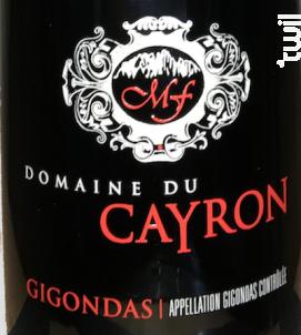 Gigondas - Domaine du Cayron - 2017 - Rouge