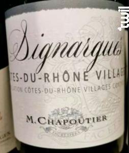 Signargues - Maison M. Chapoutier - 2018 - Rouge