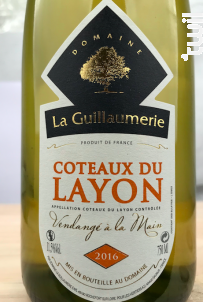 Coteaux Du Layon - Domaine de la Guillaumerie - 2018 - Blanc