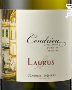 Condrieu - Laurus - Maison Gabriel Meffre - 2016 - Blanc