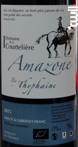 Cuvée Amazone by Thyphaine - Le Plantis des Vallées - 2015 - Rouge