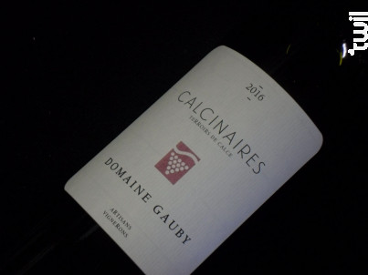 Les Calcinaires Gauby - Domaine Gauby - 2016 - Rouge