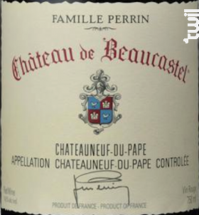 Beaucastel - Famille Perrin - Château de Beaucastel - 2009 - Rouge