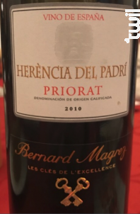 Herencia del Padri - Bernard Magrez - 2016 - Rouge