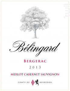 Bélingard - Merlot Cabernet Sauvignon - Château Belingard - 2015 - Rouge