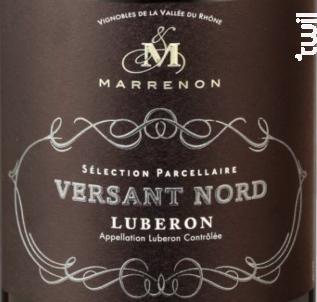 Versant Nord - Marrenon - 2018 - Rouge