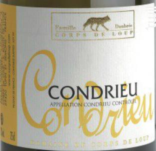 Condrieu - Domaine de Corps de Loup - 2018 - Blanc