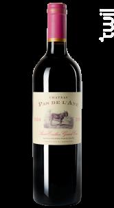 Château Pas de l'âne - Château Pas de l'Ane - 2016 - Rouge