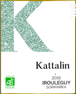 Kattalin blanc - Cave d'Irouleguy - 2019 - Blanc