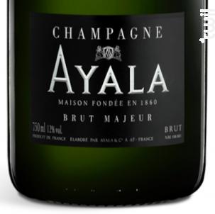Brut Majeur - Champagne Ayala - Non millésimé - Effervescent
