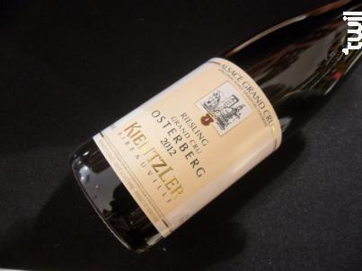 Riesling Osterberg Grand Cru - André Kientzler Earl - 2014 - Blanc