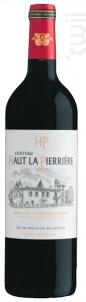 Château Haut La Pierrière - Maison Delor - 2016 - Rouge