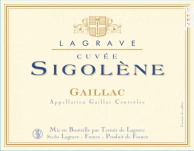 Cuvée Sigolène - Terroir de Lagrave - 2016 - Rouge
