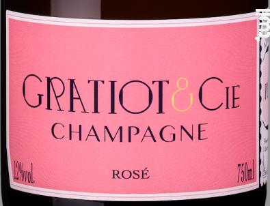 Almanach n°3 Rosé - Champagne Gratiot & Cie - Non millésimé - Effervescent