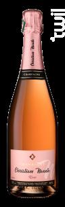 Brut Rosé - Champagne Christian Naudé - Non millésimé - Effervescent