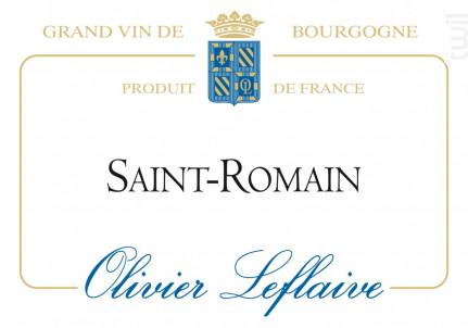 Saint-Romain - Maison Olivier Leflaive - 2014 - Blanc