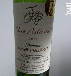 Les Astéries - Domaine Bonnet Gilbert - 2015 - Rouge