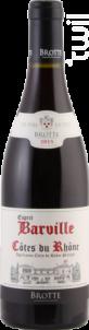 Esprit De Barville - Maison Brotte - Sélection - 2017 - Rouge
