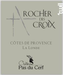 Rocher des Croix - Château Pas du Cerf - 2012 - Rouge