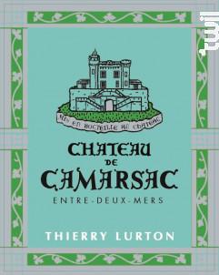 Château de Camarsac Entre-Deux-Mers - Château de Camarsac - 2016 - Blanc
