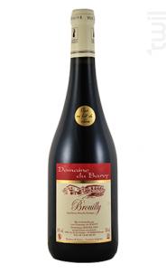 Brouilly Fût de Chêne - Domaine du Barvy - 2016 - Rouge