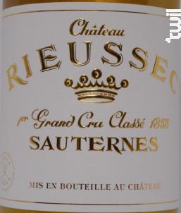 Château Rieussec - Domaines Barons de Rothschild - Château Rieussec - 2014 - Blanc