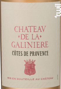 Château de la Galinière - Château de la Galinière - 2018 - Rosé