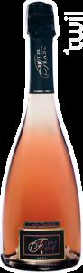 Brut de Franc Rosé - Couly-Dutheil - Non millésimé - Effervescent