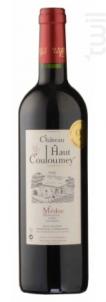 Château Haut Couloumey - Médoc - Bordeaux - Rouge - Château Haut Couloumey - 2016 - Rouge