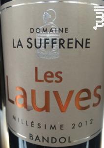 Les Lauves - DOMAINE LA SUFFRENE - 2012 - Rouge