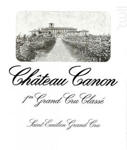 Château Canon - Château Canon - 2016 - Rouge