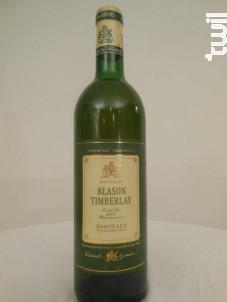 Blason Timberlay - Vignoble Robert Giraud - 1993 - Blanc
